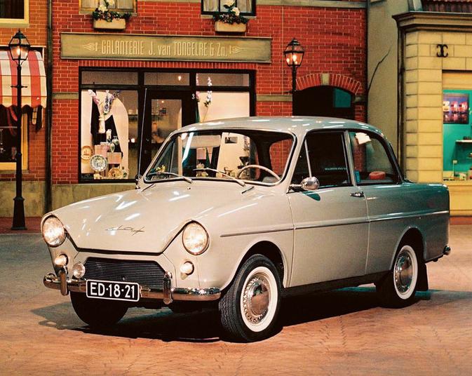 DAF 600 auto epoca anni 50 pubblicità