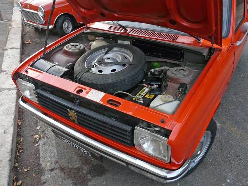 peugeot 104 motore
