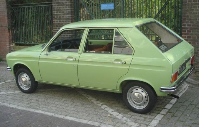 peugeot 104 1974
