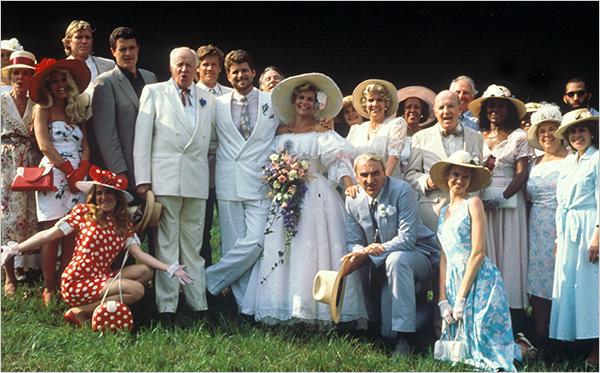 SENTIERI CAST 1989 MATRIMONIO