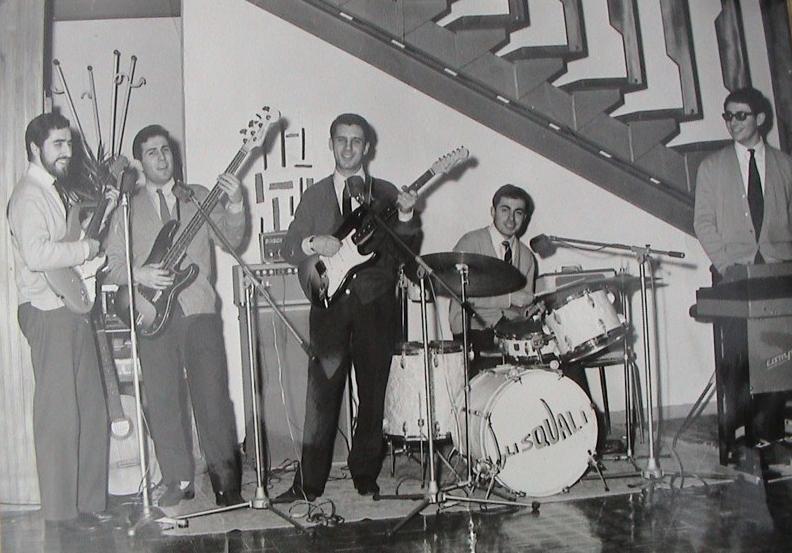 gli squali dik dik anni 60