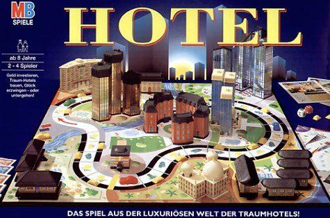HOTEL Gioco in scatola MB – (Dal 1987)