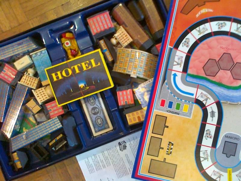 hotel confezione vintage giocattolo
