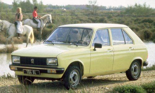 Storia dell'auto: PEUGEOT 104