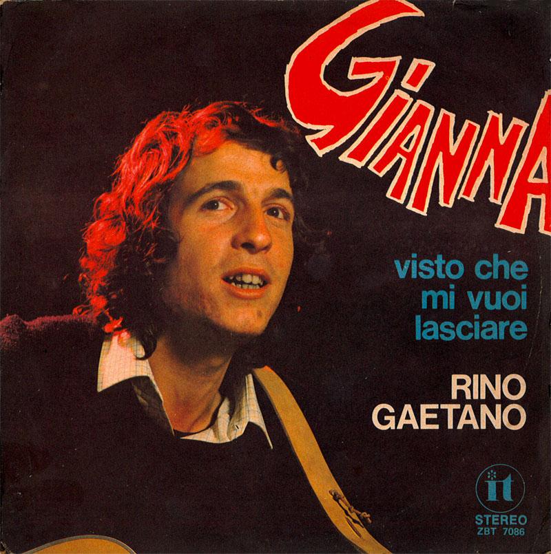 Rino Gaetano Gianna copertina