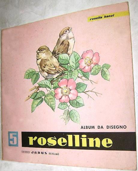roselline album e libro