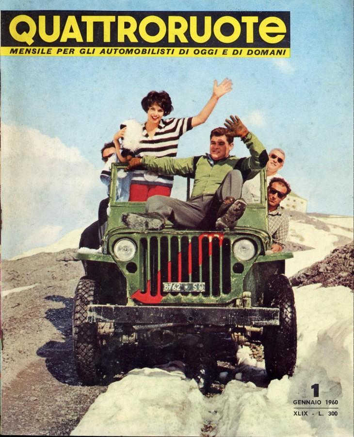 quattroruote copertina numero 1 anno 1960
