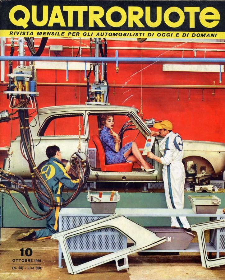 Quattroruote Ottobre 1960 – Anno V – N° 10