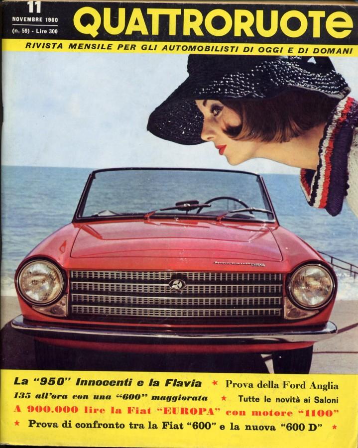 Quattroruote Novembre 1960 – Anno V – N° 11