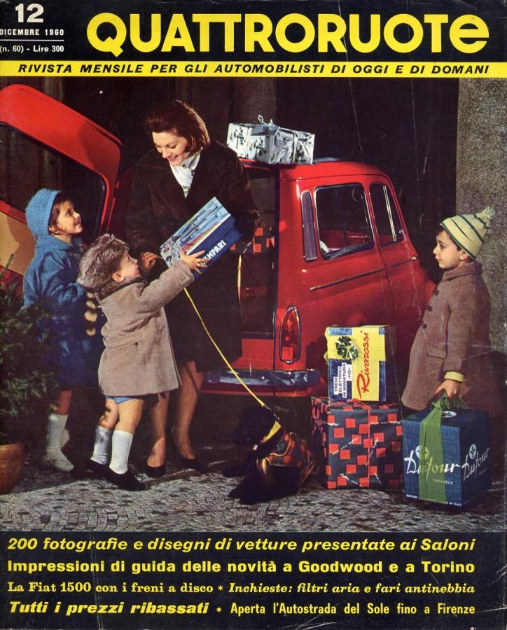 Quattroruote Dicembre 1960 – Anno V – N° 12