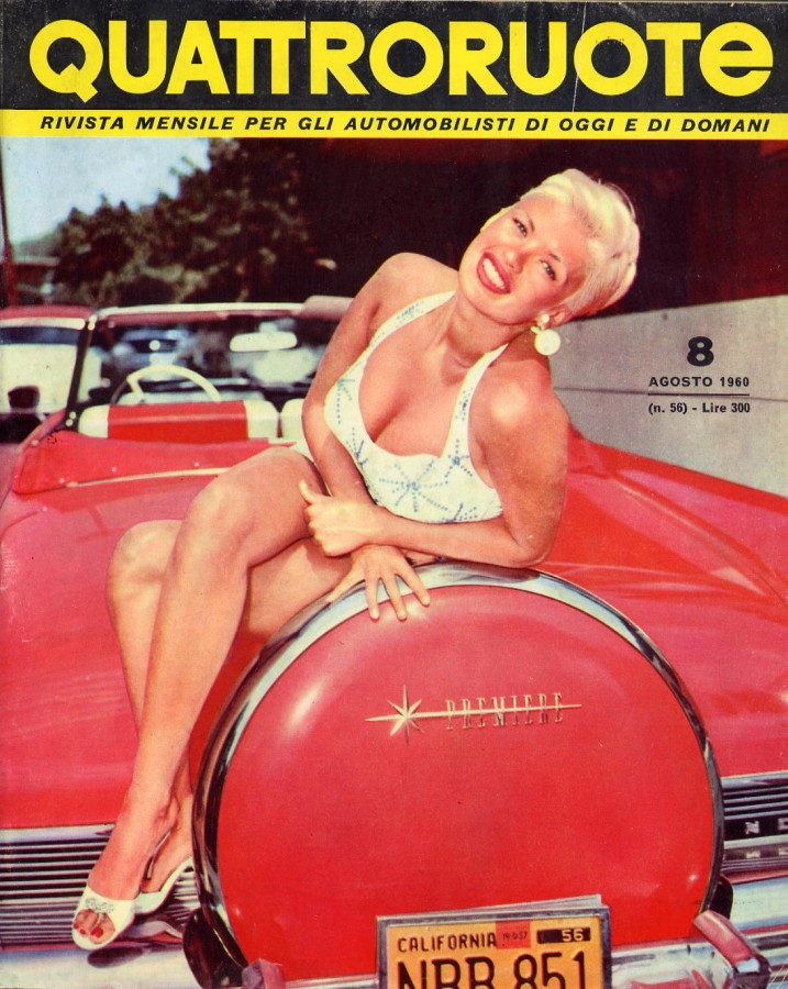 Quattroruote Agosto 1960 – Anno V – N° 8