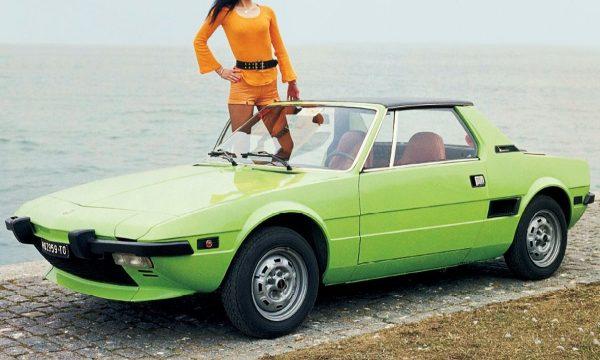 La storia dell'auto: FIAT X 1/9