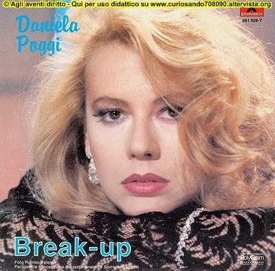 Daniela Poggi break up disco copertina