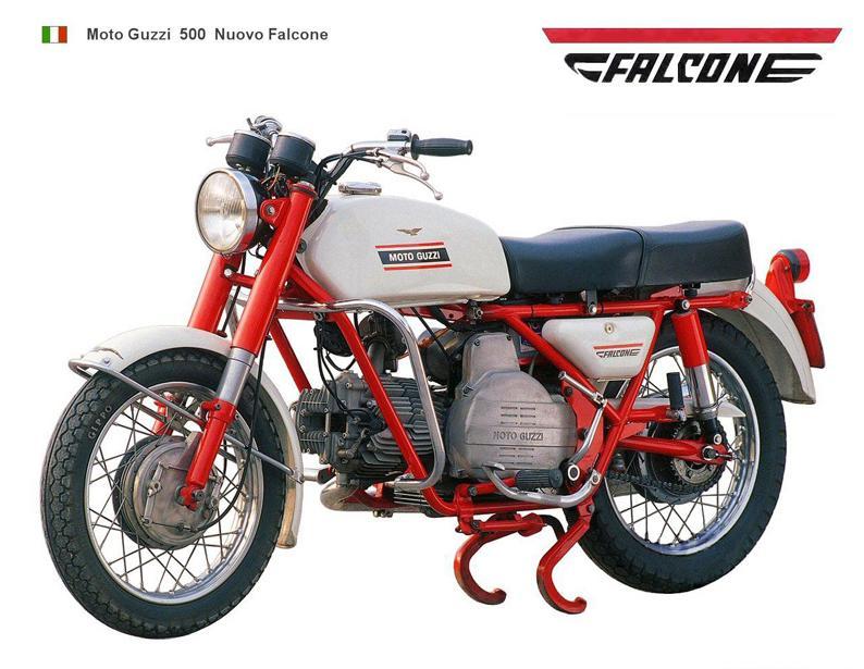 moto guzzi nuovo falcone catalogo
