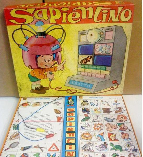 sapientino anni 70 giocattoli vintage