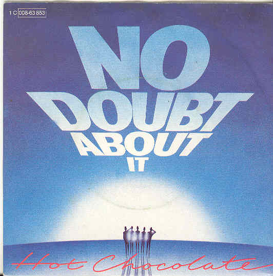 hot chocolate no doubt about it copertina disco