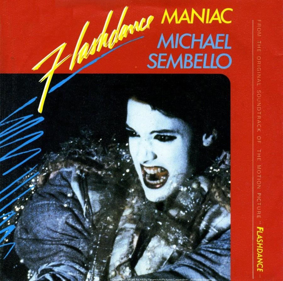 maniac michael sembello colonna sonora flashdance copertina