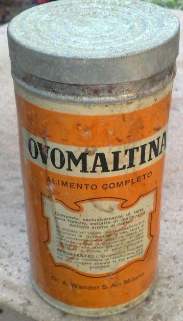 ovomaltina confezione vintage