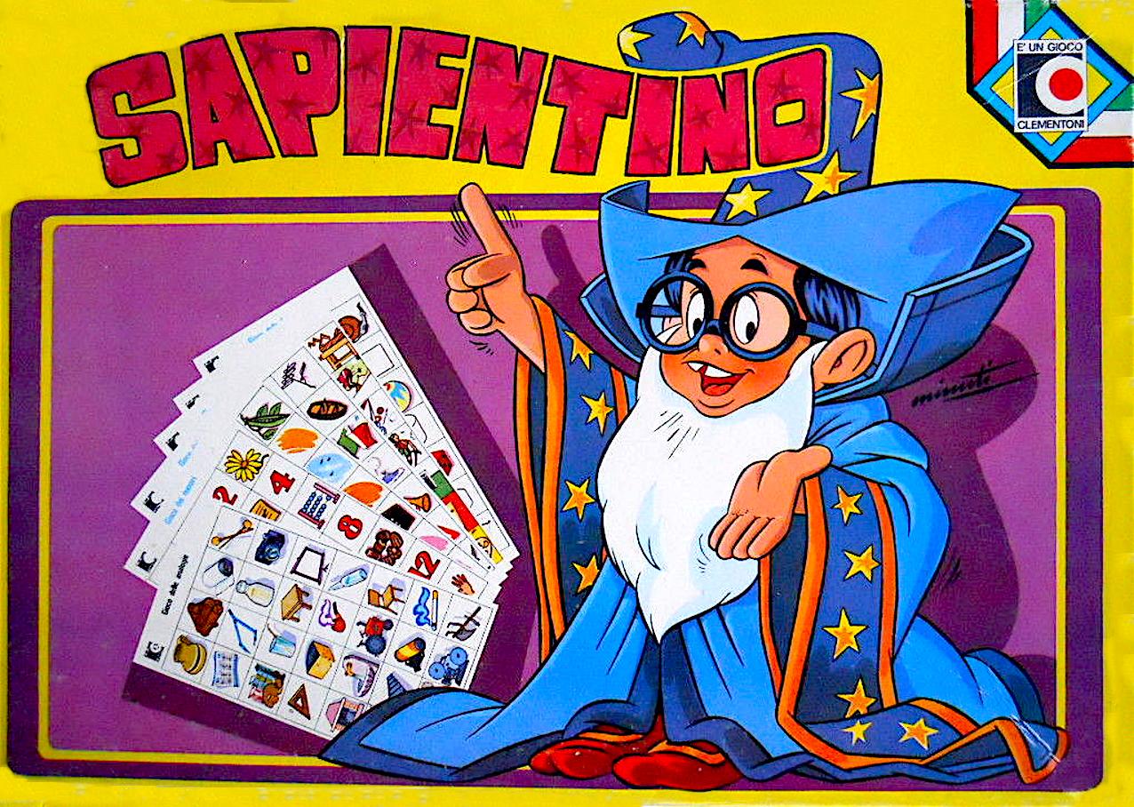 sapientino_cliementoni_anno_1979_confezione_vintage