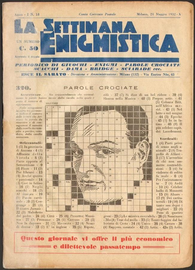 settimana enigmistica 1932
