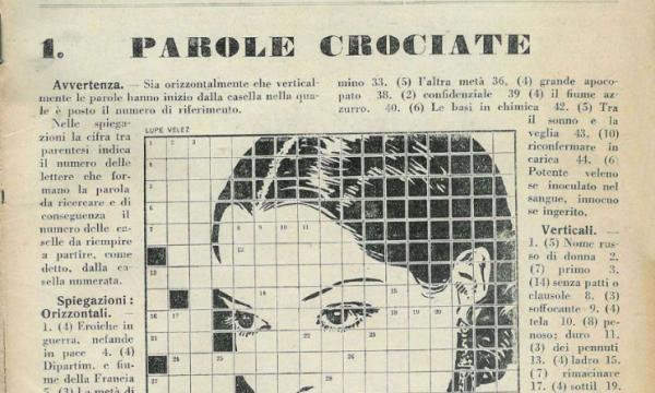 SETTIMANA ENIGMISTICA – (Dal 1932)