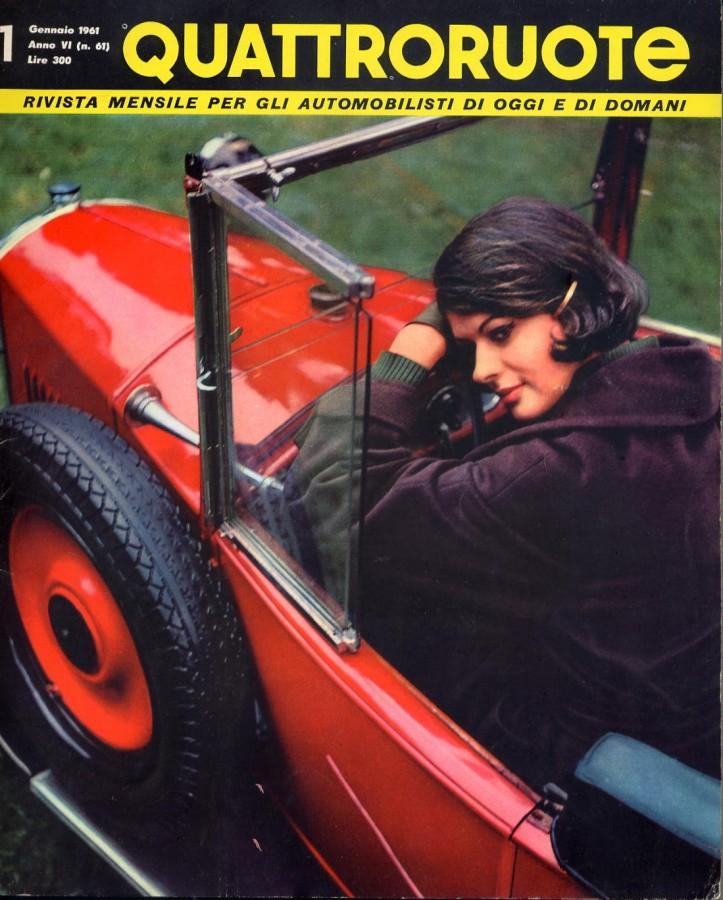 quattroruote copertine gennaio 1961