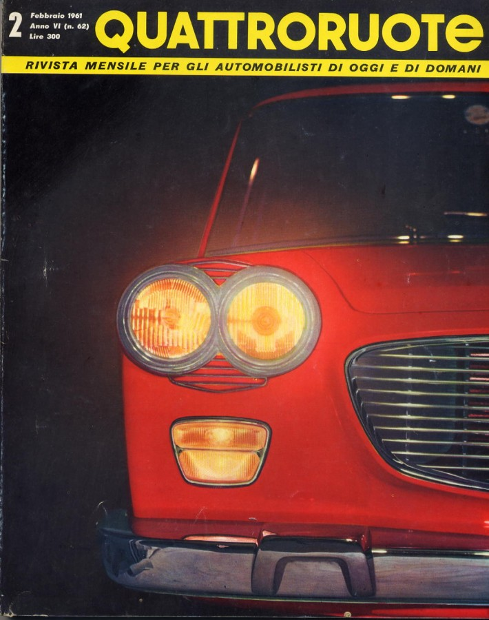 quattroruote copertina febbraio 1961 2