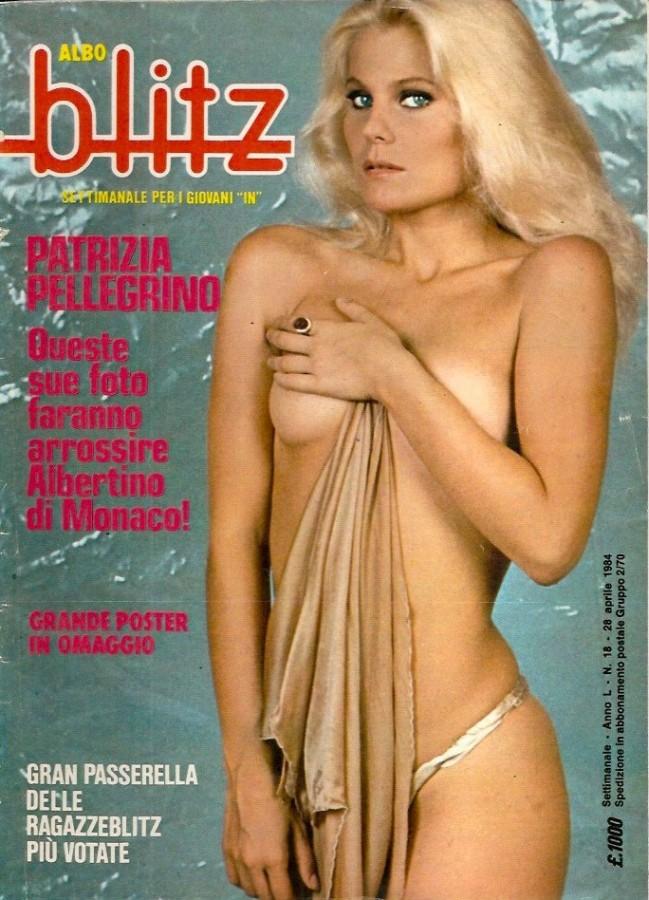 Patrizia Pellegrino 1985 copertina