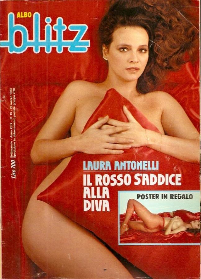 1983 Laura antonelli copertina nuda blitz
