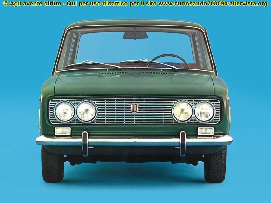 Fiat 124 special del 1968