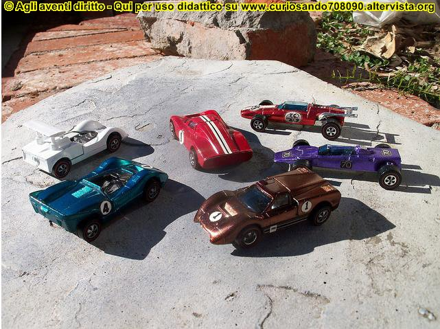hot wheels modellini anni 60