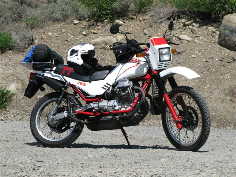 MOTO GUZZI V65 TT