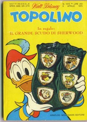Topolino presenta lo scudo di Sherwood gadget