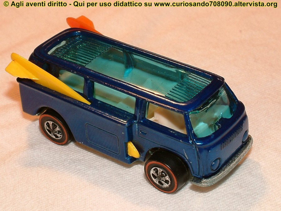 beach bomb modellino hot wheels
