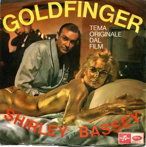 sherley bassey goldfinger copertina