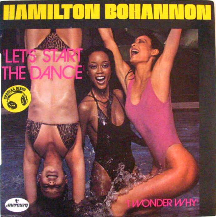 The best of hamilton Bohannon let's start copertina disco 45 giri