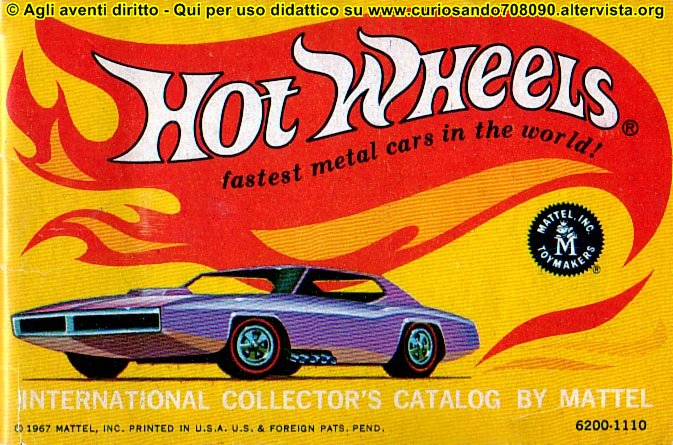 hot wheels catalogo 1968