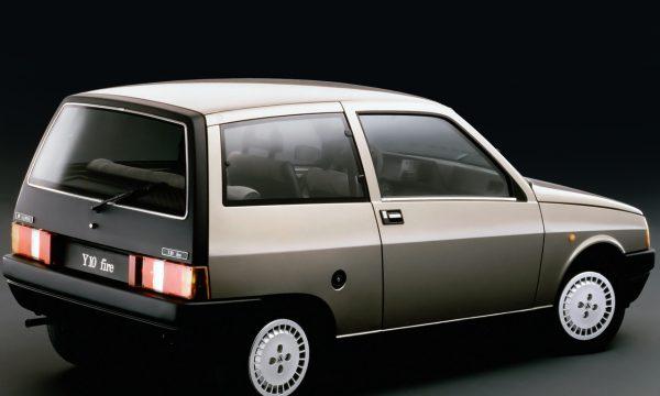 Storia dell'auto: Autobianchi Y10