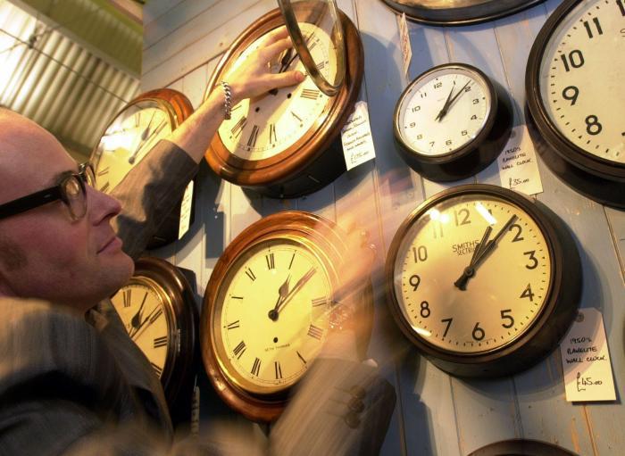 la Storia dell'ora legale