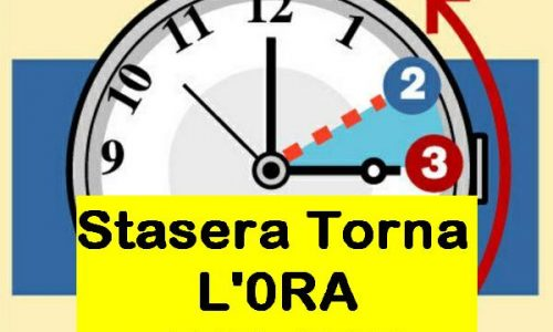 Stasera torna l'ORA SOLARE – (In Italia dal 1916)