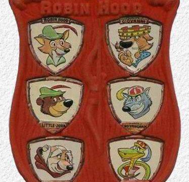 IL GRANDE SCUDO DI SHERWOOD – Gadget Topolino – (1975)