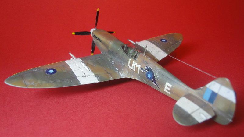 airfix spitfire 1953
