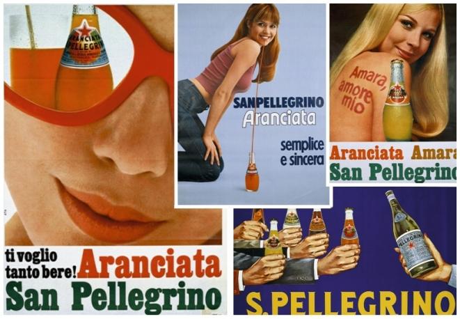 aranciata sanpellegrino pubblicità manifesti