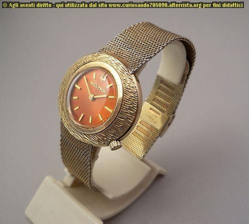 Bulova Accutron 1968 Wrist laminato oro