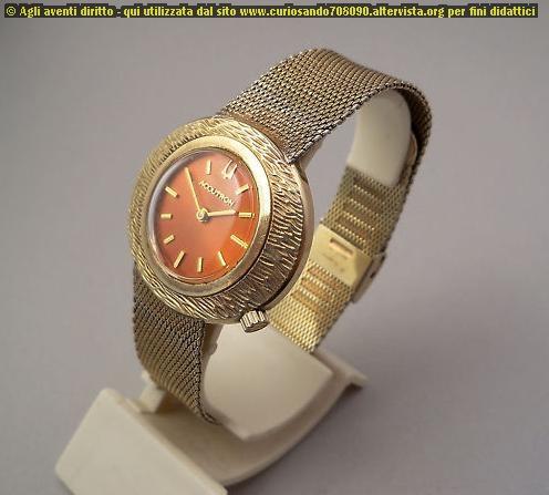 Bulova Accutron Wrist laminato in oro 1968