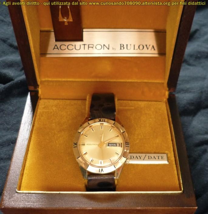 Bulova Accutron  confezione