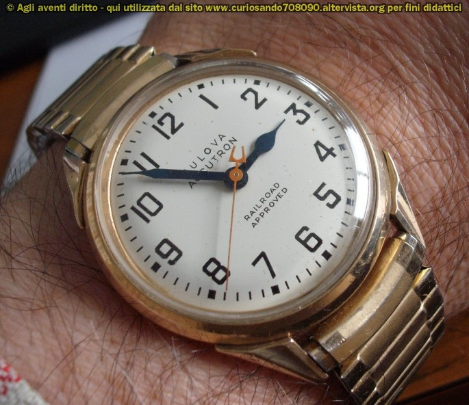 Un Bulova Accutron Railroad aproved del 1969