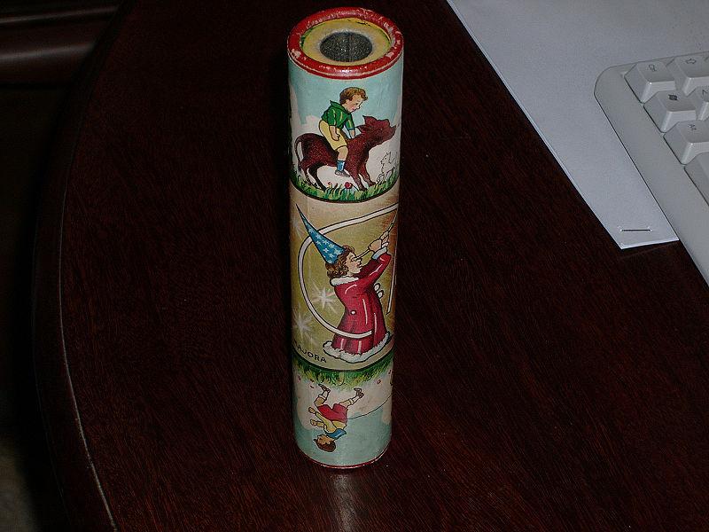 CALEIDOSCOPIO giocattolo vintage