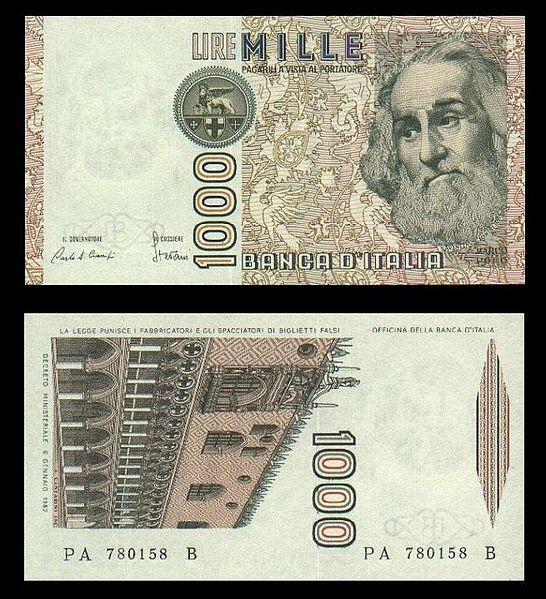 lira 1000