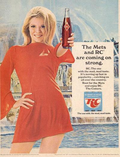 rc cola royal crown cola pubblicità
